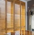 Indoor Plantation Shutters in Timber