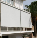 Outdoor 'Wire Glide' Blinds