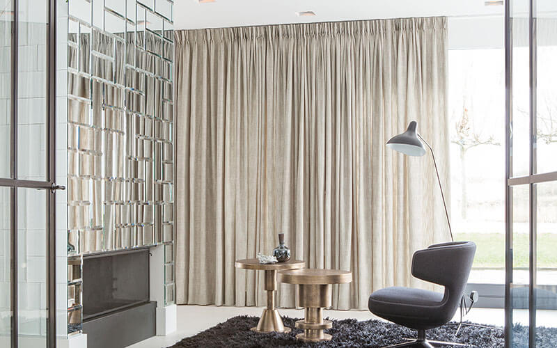 Tracked Curtains
