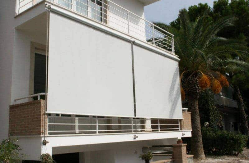 Wire Glide Outdoor Shade Blinds Adelaide