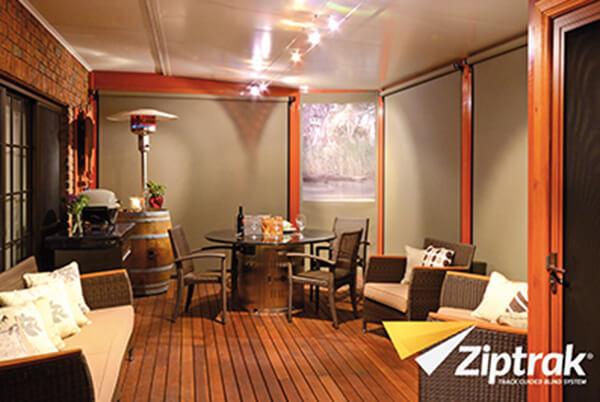Ziptrak® Outdoor Blinds