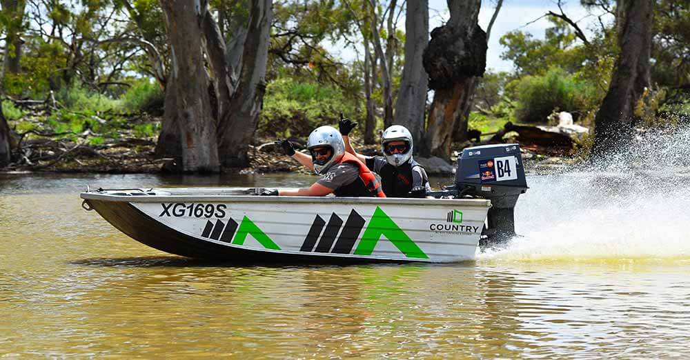 Country Blinds Dinghy Derby Sposorship