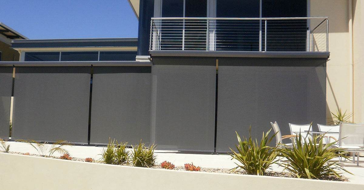Country Straight Drop Blinds Adelaide