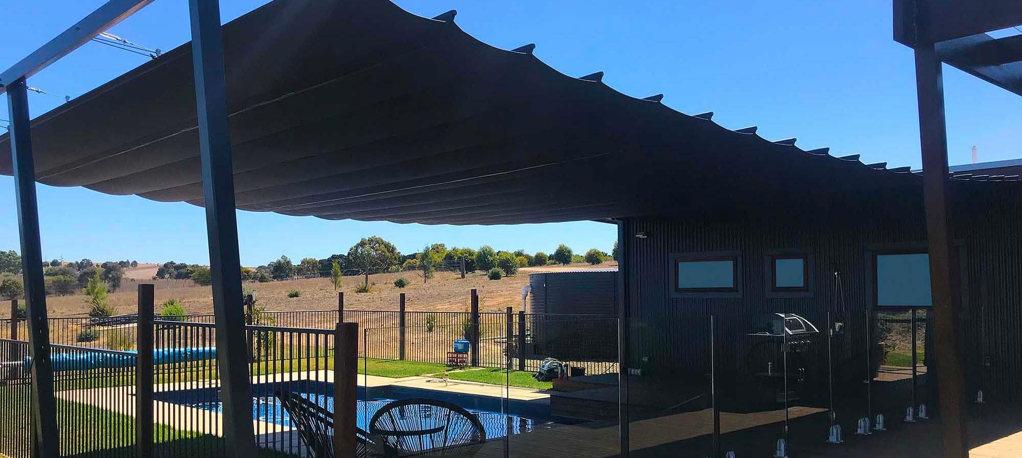 Wide spans for living large outdoors